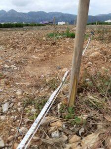 Marcado Ecoforce para nueve plantación