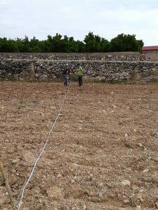 Técnicos ecoforce nueva plantación